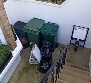 rubbish removal barnet before