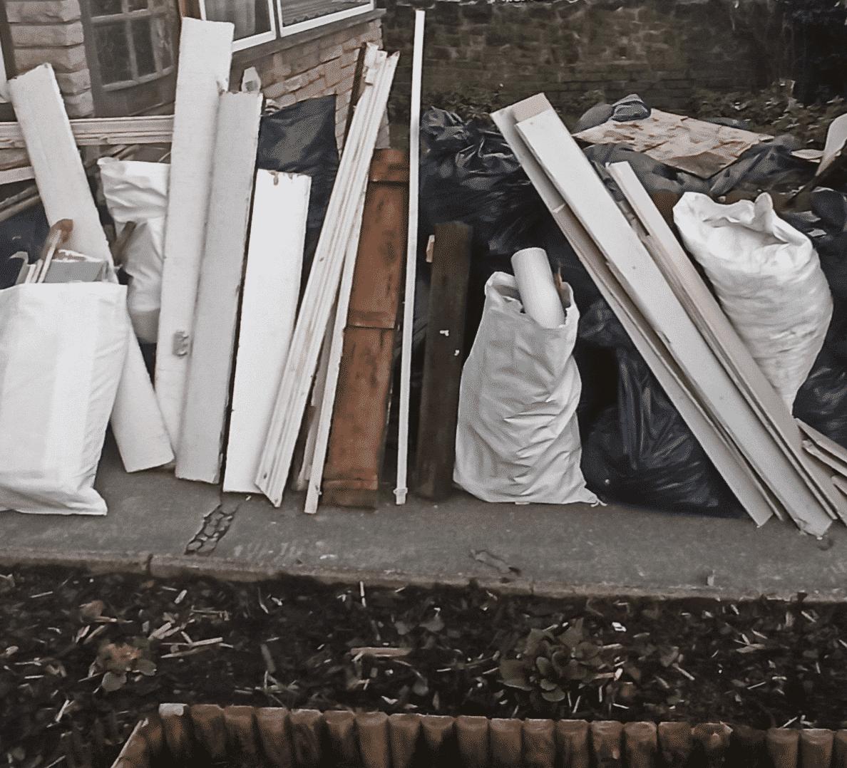rubbish clearance hatfield before