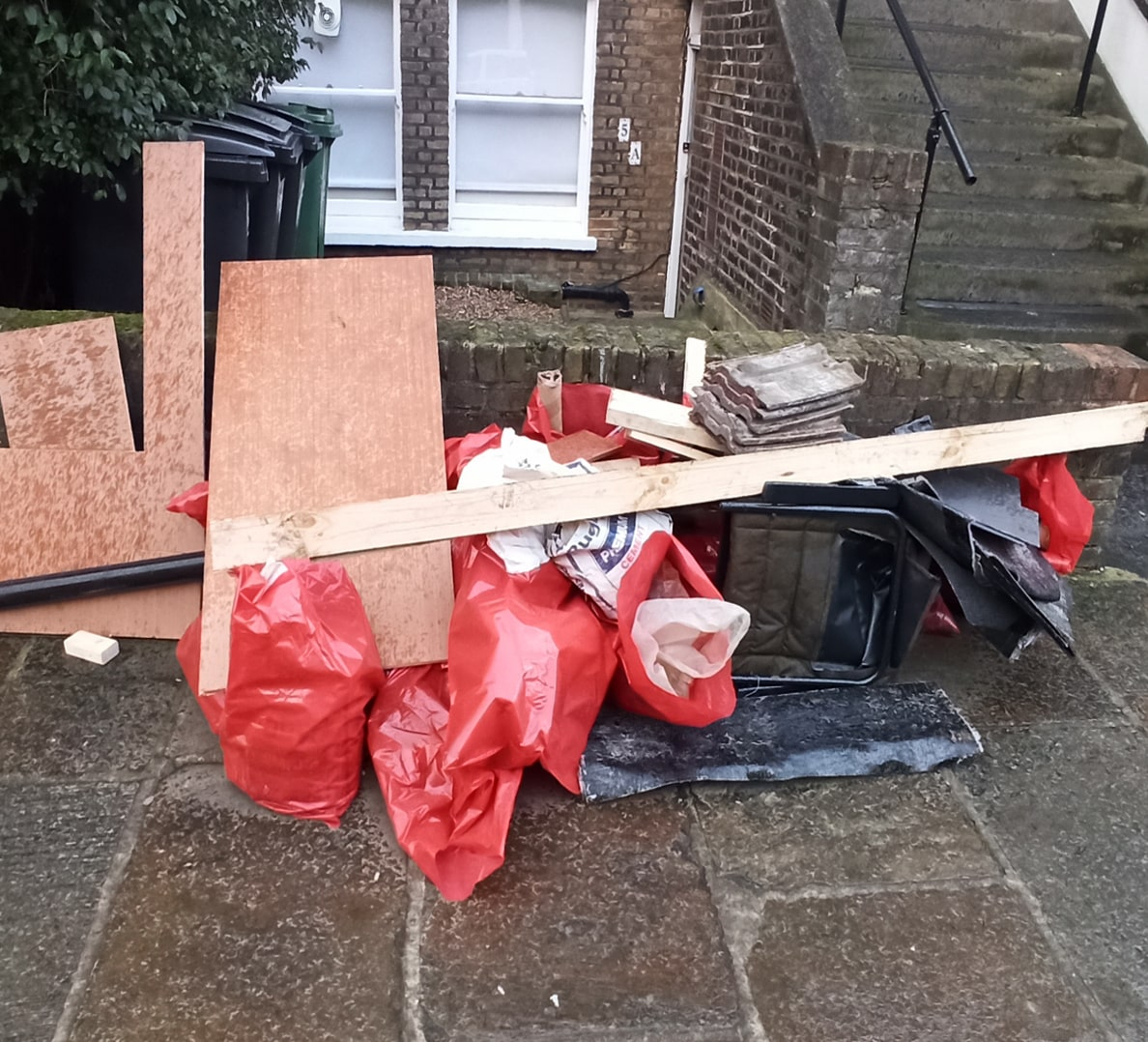 COLINDALE RUBBISH REMOVAL BEFORE